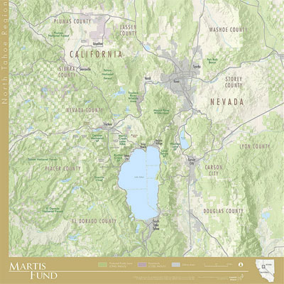 North Tahoe Regional Map