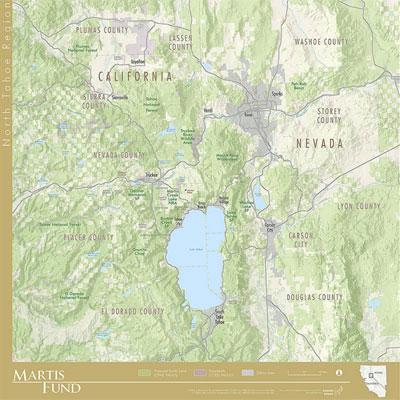 North Tahoe Regional Map